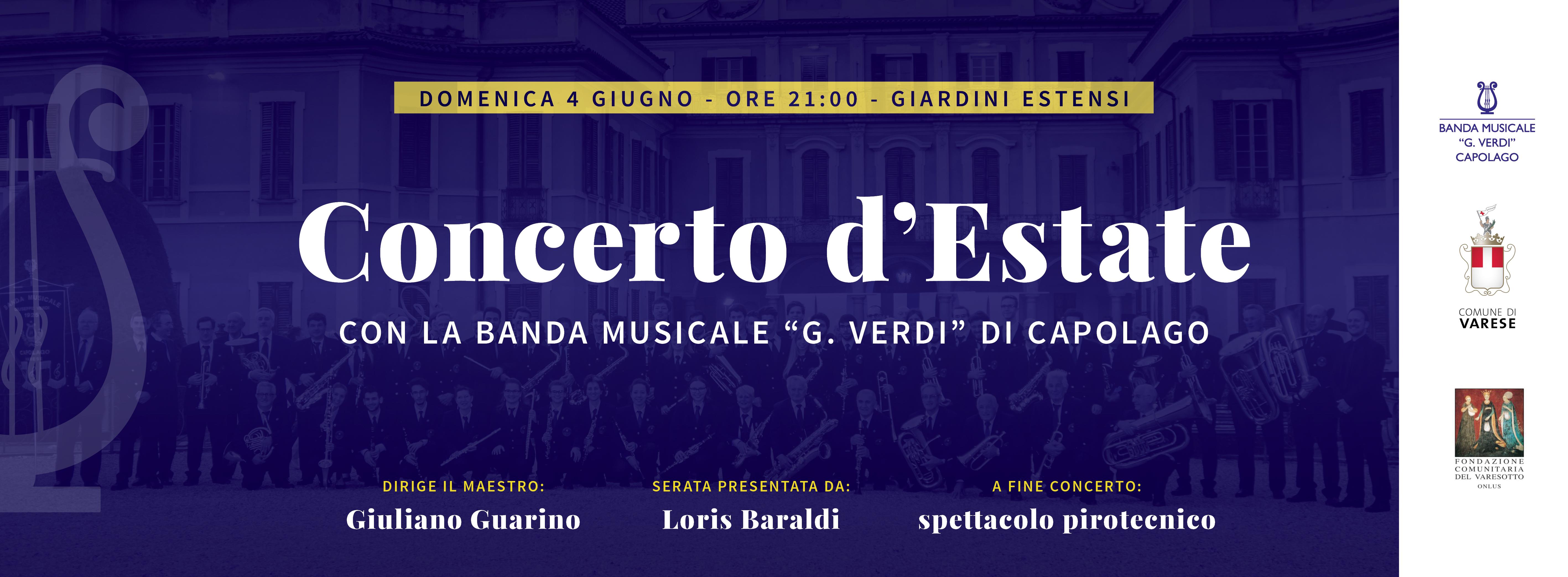 CONCERTO D'ESTATE 2017 - COPERTINA FB